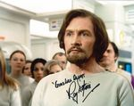 Roy Dotrice 'Commissioner Simmonds' SPACE 1999 Genuine Autograph 10x8  11142